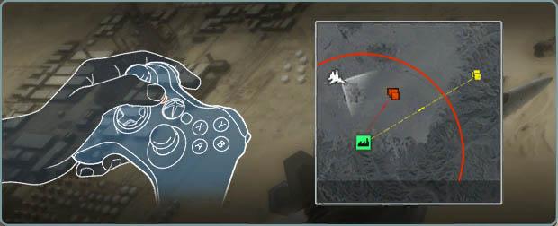 《鹰击长空》pc x360手柄操作图解 游戏介面解释