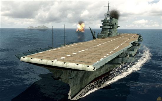 《中途岛之战:太平洋》多人模式游戏截图