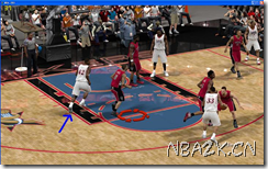 《NBA 2K9》空接教程 让你的大前锋飞起来