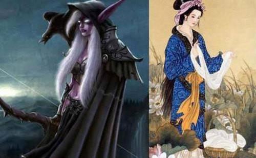 四大美女vs中国古代四大美女