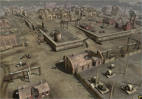 《英雄连:勇气传说》新地图坦克战截图公布