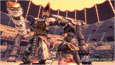欣赏 古罗马/[Wii] 在古罗马战斗《角斗士 A.D.》新画面欣赏