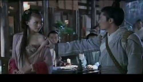 新闻中心 正文  二,圣女紫萱变身美女蛇   电视剧版本:   紫萱本为
