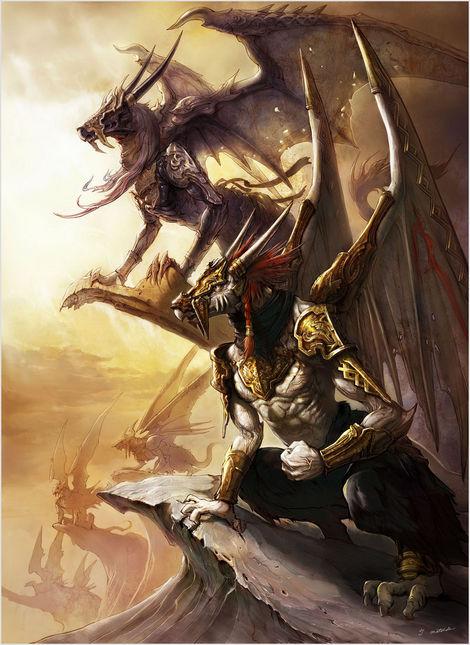 《巴哈姆特之血》创世巨兽神巴哈姆特登场