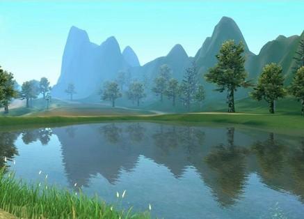 壁纸 风景 山水 桌面 437_314