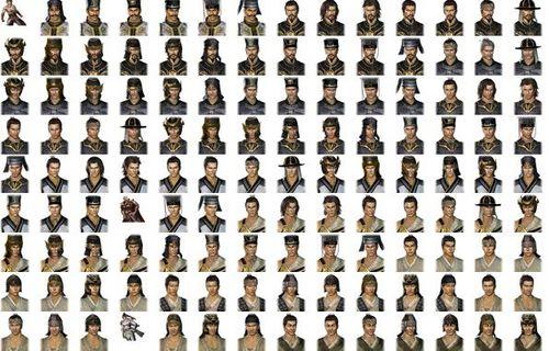 《真三国无双6》表情表情PNG人物下载格式包小可爱喊图片