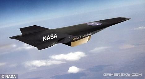 美国宇航局设计的高超音速飞机