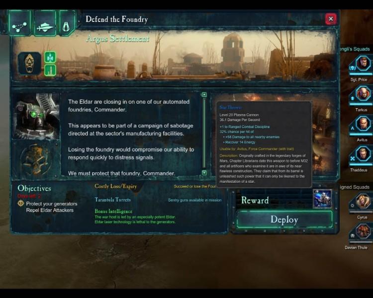 《战锤40K:战争黎明2》战役中的装备收集